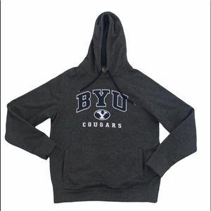 Stadium BYU hood hoodie hoody sweats sweater gray